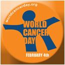 Logo día mundial del cáncer
