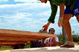 Trabajos de invierno Chile Paraguay versión 2012